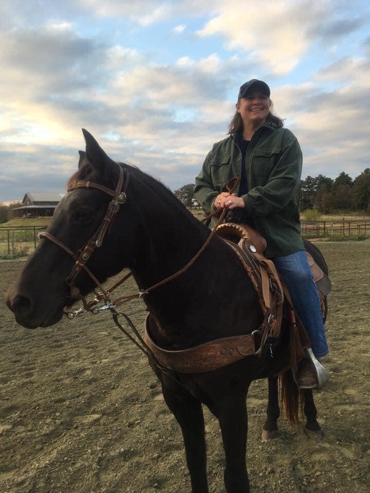 Dana Tarter horseback riding